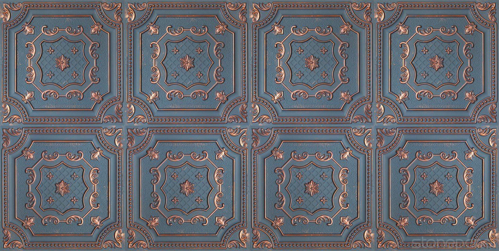 Tavan Karosu Alhambra Bluish Coppe