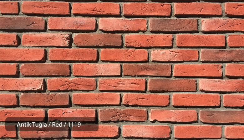 Kültür Tuğlası Antik Red