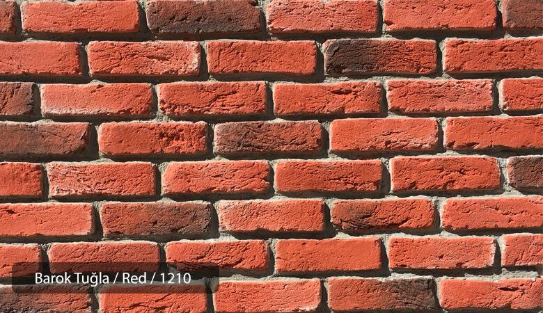 Kültür Tuğlası Barok Red
