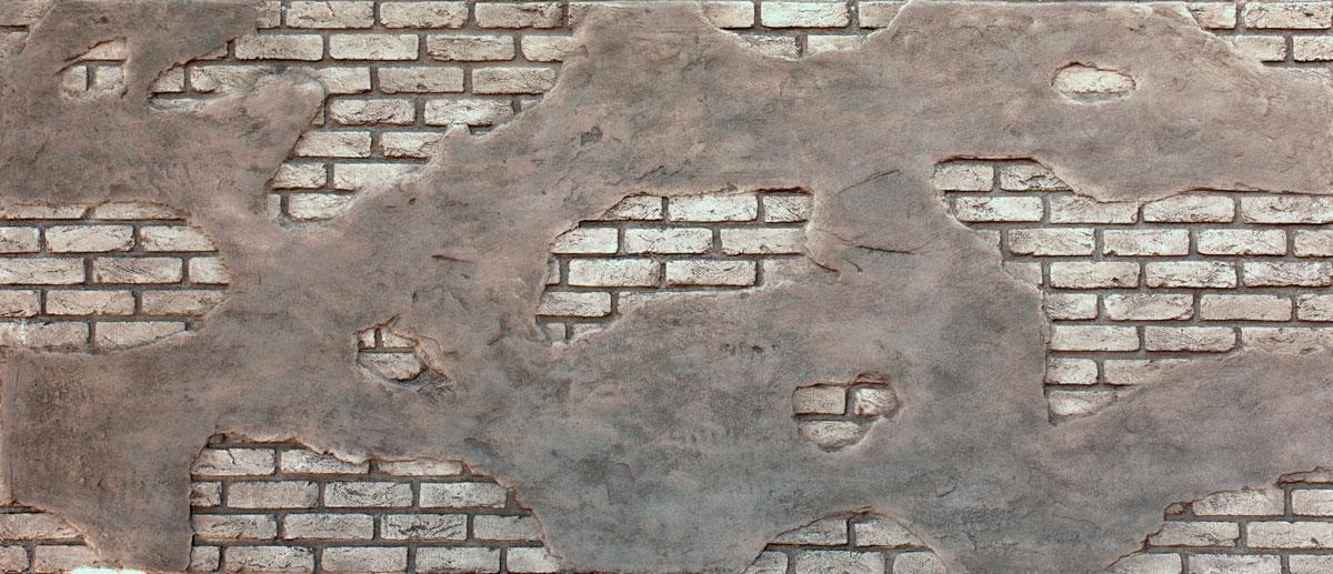 Tuğla Panel Ladrillo Cemento Blancura