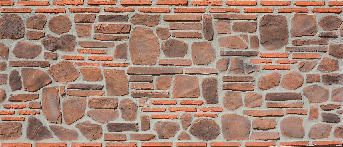 Taş Panel Pedras Marron